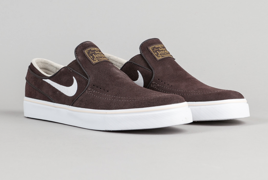 Shoe collection · The Nike SB Stefan Janoski & Slip-On In Cappuccino