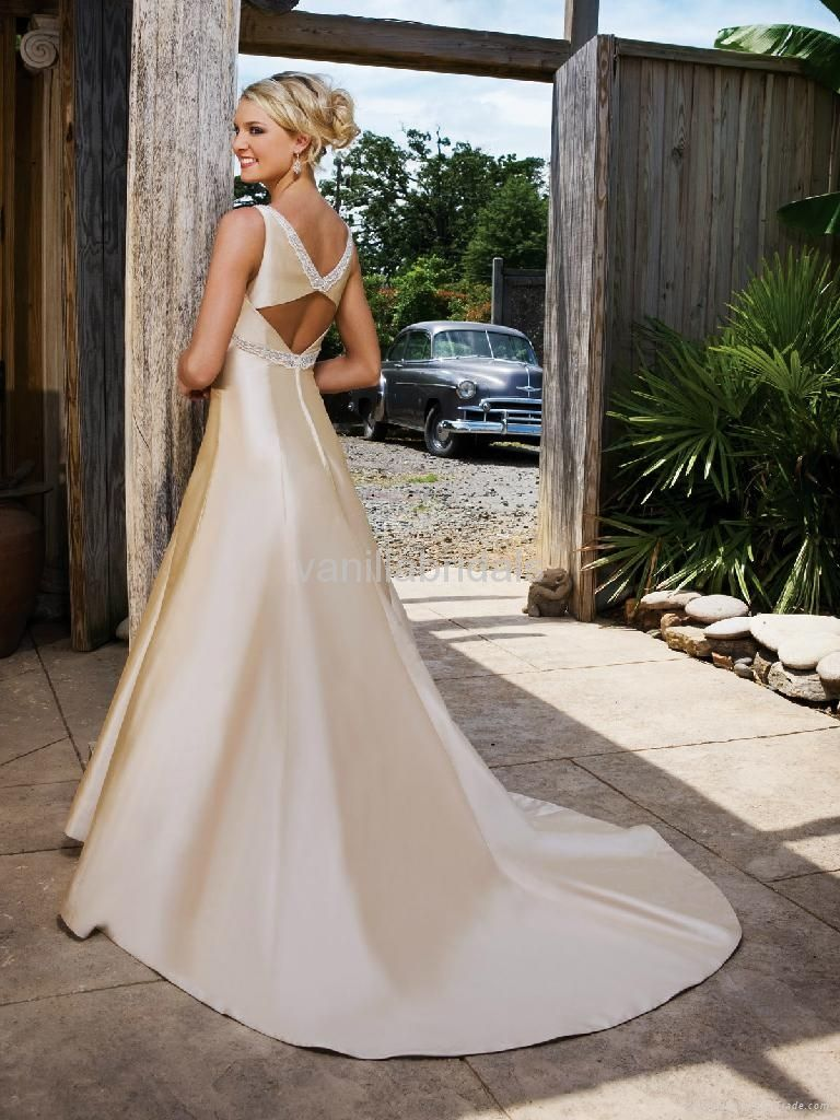 Perfect Simple Yet Elegant Wedding Gowns Composition - Top Wedding ...