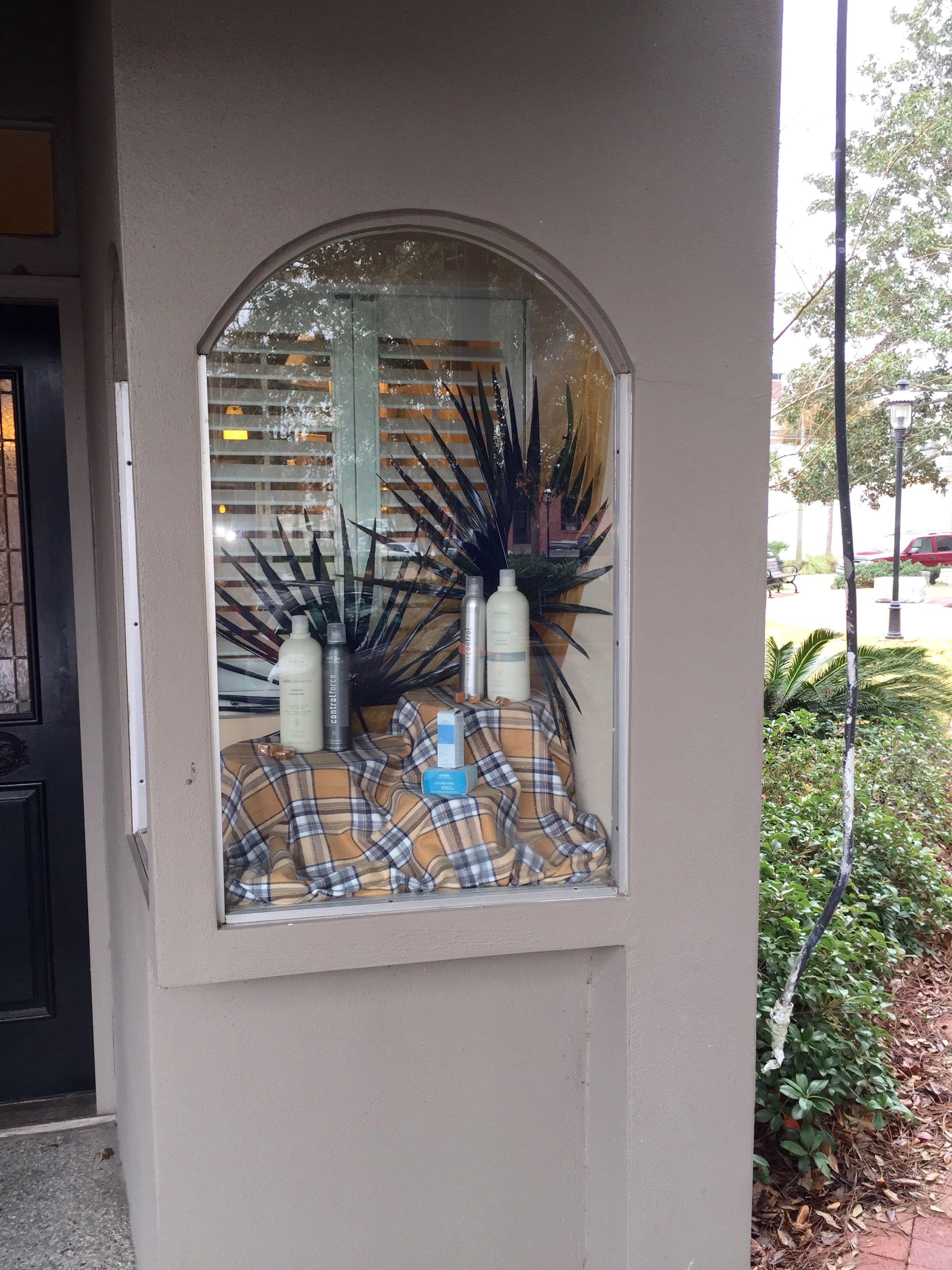 Fall Burberry Windows Decor