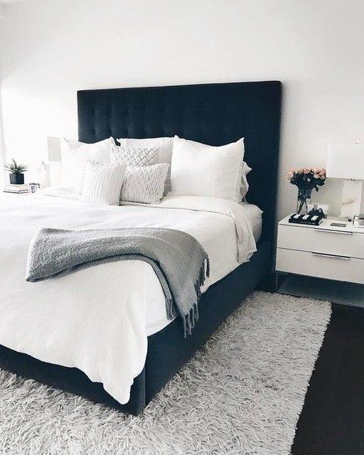 Photo of Room & Board – Avery polstret oppbevaringsseng – Moderne og moderne senger – Moderne soveromsmøbler