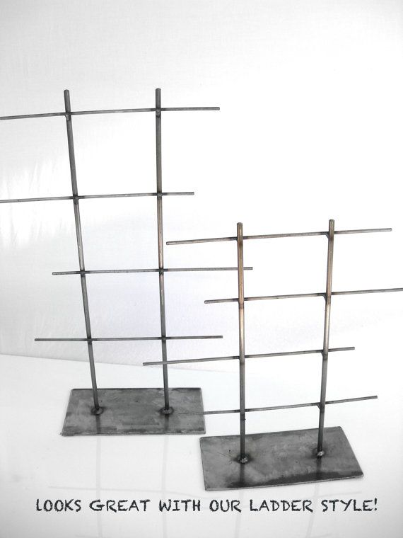 Jewelry Display Stand Metal Natural Steel Graffix Art Supply Warehouse Via Etsy B
