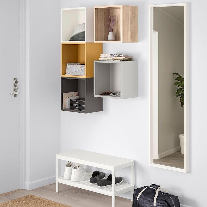 Ikea Eket Wall Mounted Storage Combination Multicolor 1 In 2020