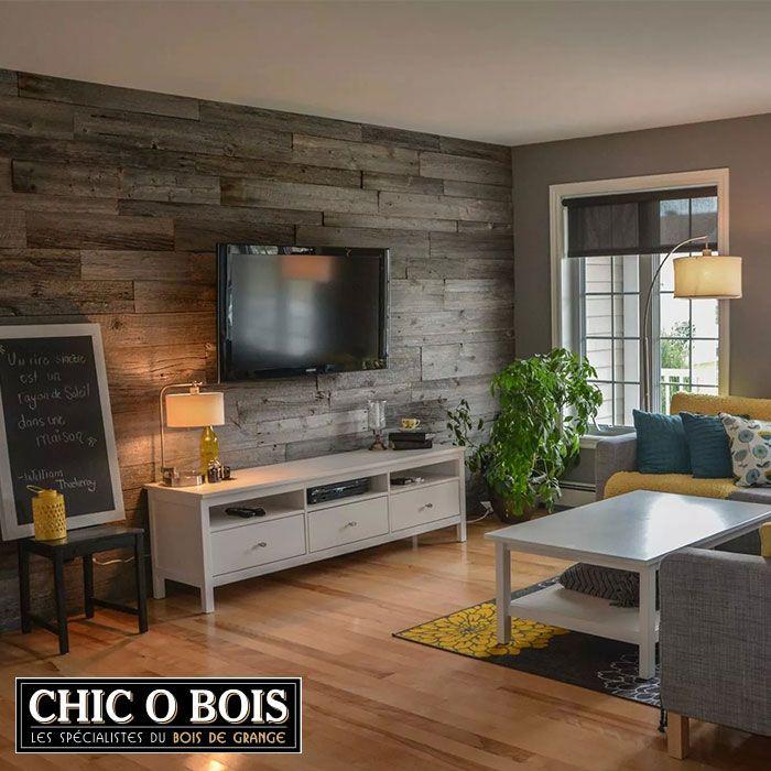 pour un rev tement de mur en bois de grange un meuble en bois de grange ou des accessoires. Black Bedroom Furniture Sets. Home Design Ideas