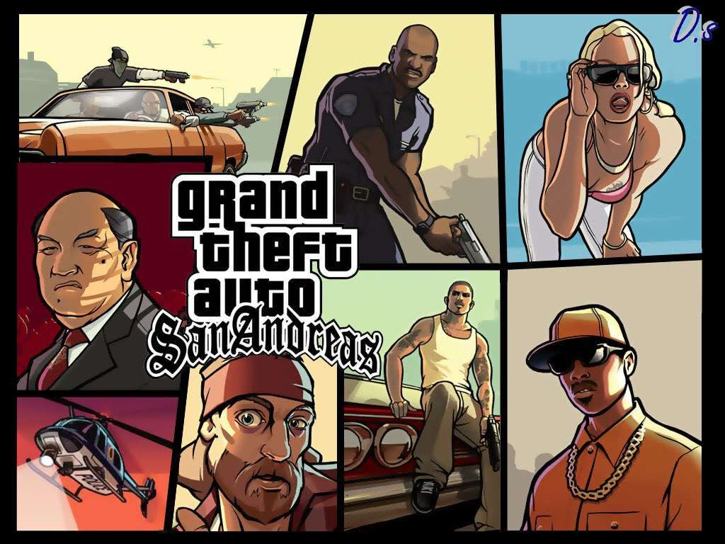 Grand Theft Auto: San Andreas v1 08 Apk + Data Free Download