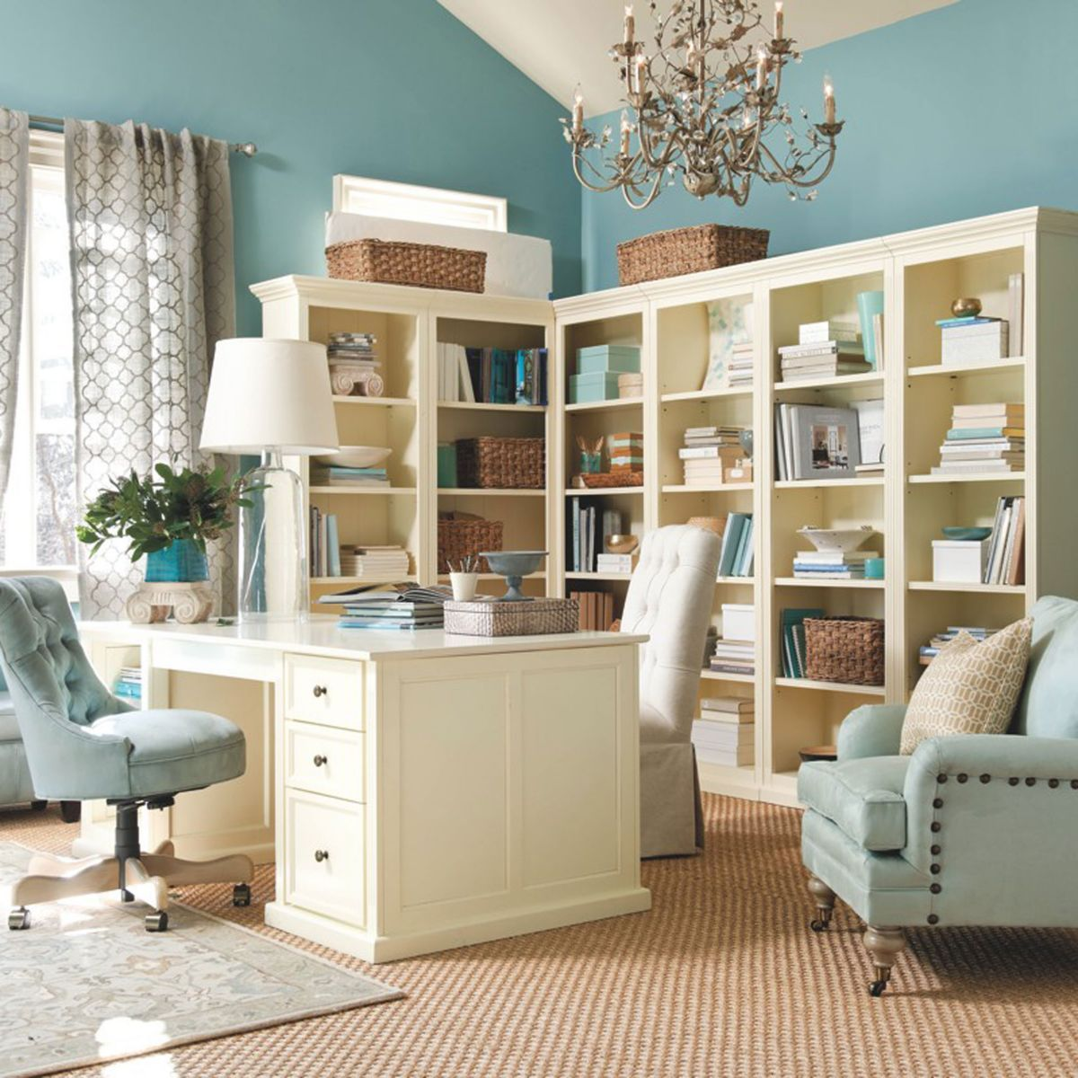 Decorating Ideas For Study Spaces: Here Is A Cabinet For An Office Like Study Room In Your
