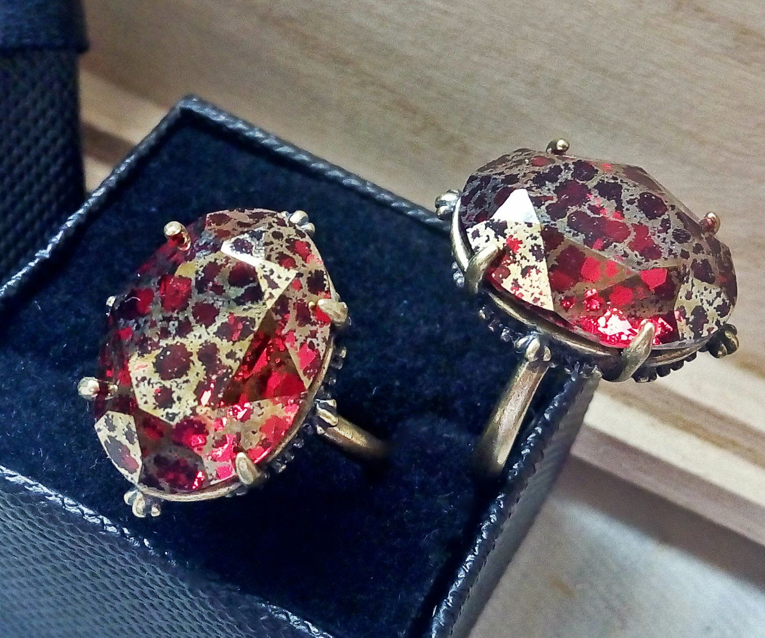 Red Vampire Gothic Ring b6446aed6a8