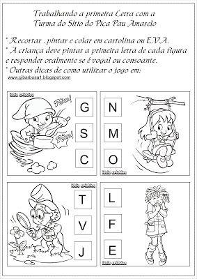 Rosangela Aprendizagem Letra Inicial Alfabetizacao Livros De