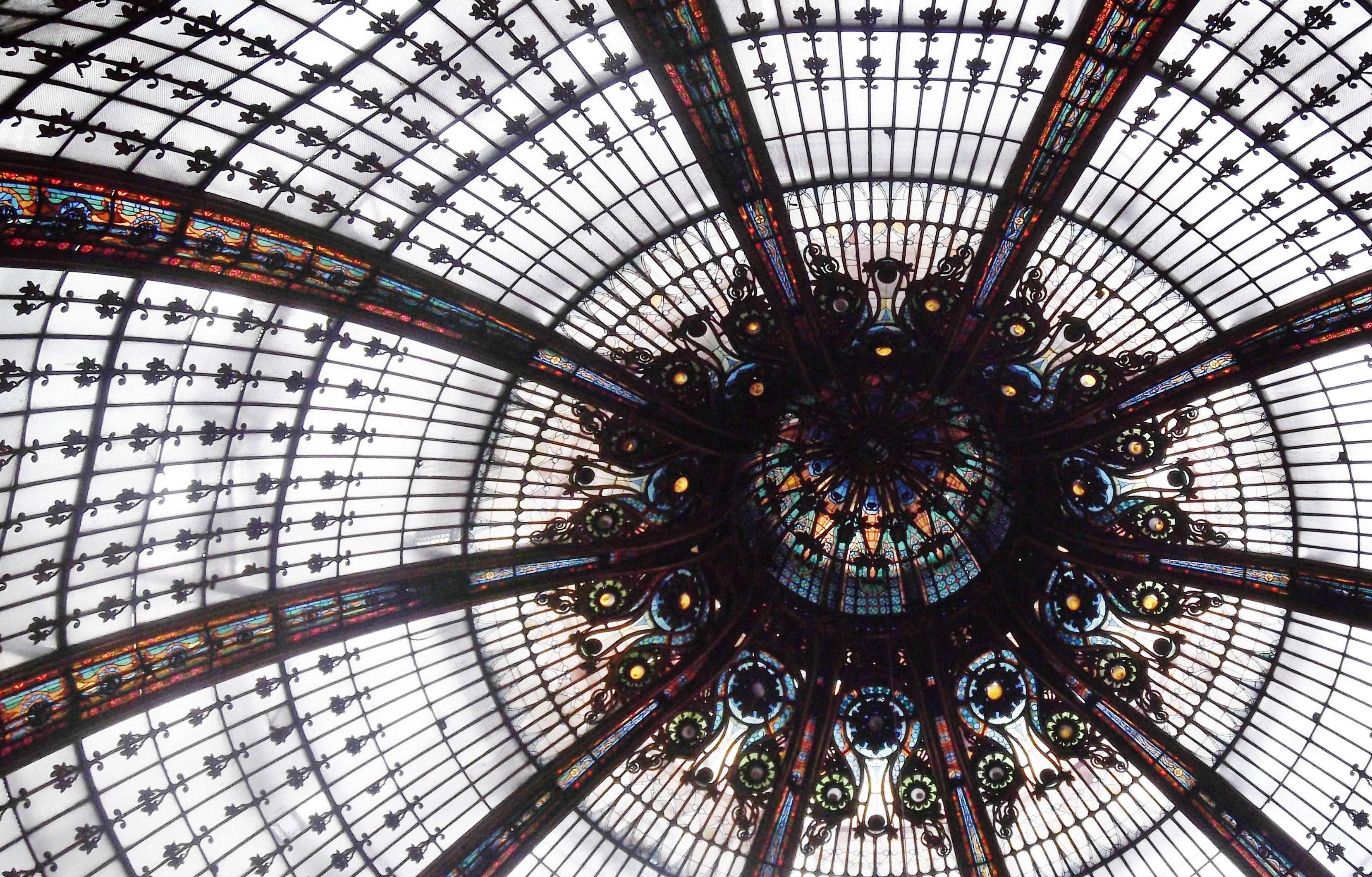Taken at La Galerie Lafayette. Paris, France