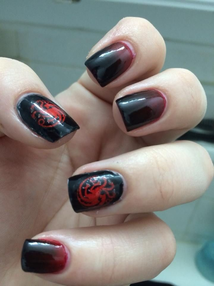 43 Game Of Thrones Nail Art Design Fashion Pinterest Beauty