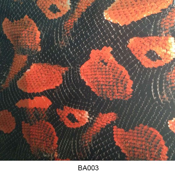 Water transfer film animal skin pattern BA003