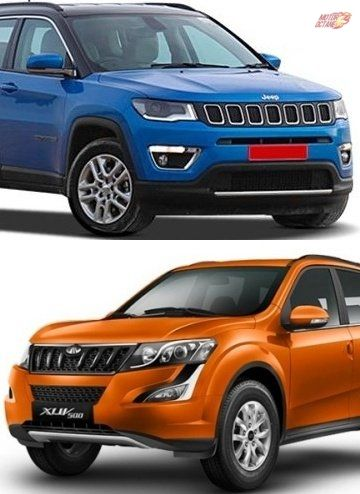 Jeep Compass Vs Mahindra Xuv500 Comparison Jeep Compass Jeep
