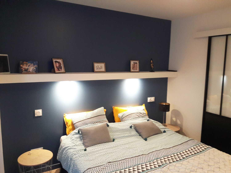 Placo Tete De Lit tête de lit sur mesure en plaques de plâtre à monterblanc