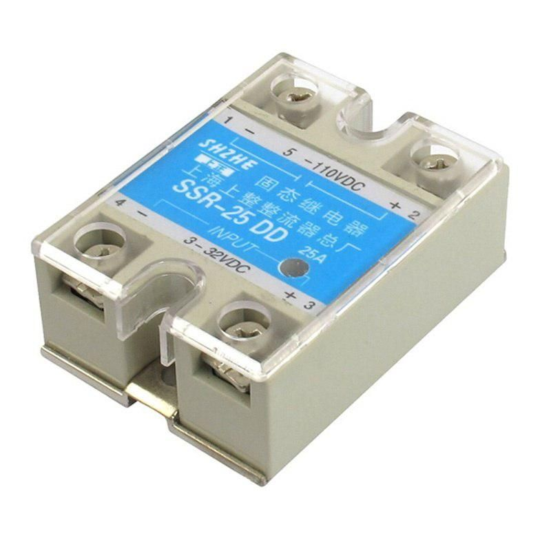SSR - 25 DD DC, Solid State Relay Module DC 3 - 32 V DC 5
