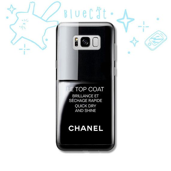 Coco Chanel Nail polish iPhone X Case iPhone 7 8 6 5 5S SE | Samsung ...