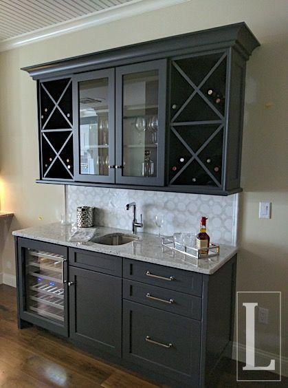 Pin By Jon Kuhn On Custom Cabinetry Storage Home Bar Designs Dining Room Bar Coffee Bar Home