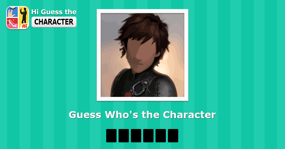 Can you help me to guess the character out?
