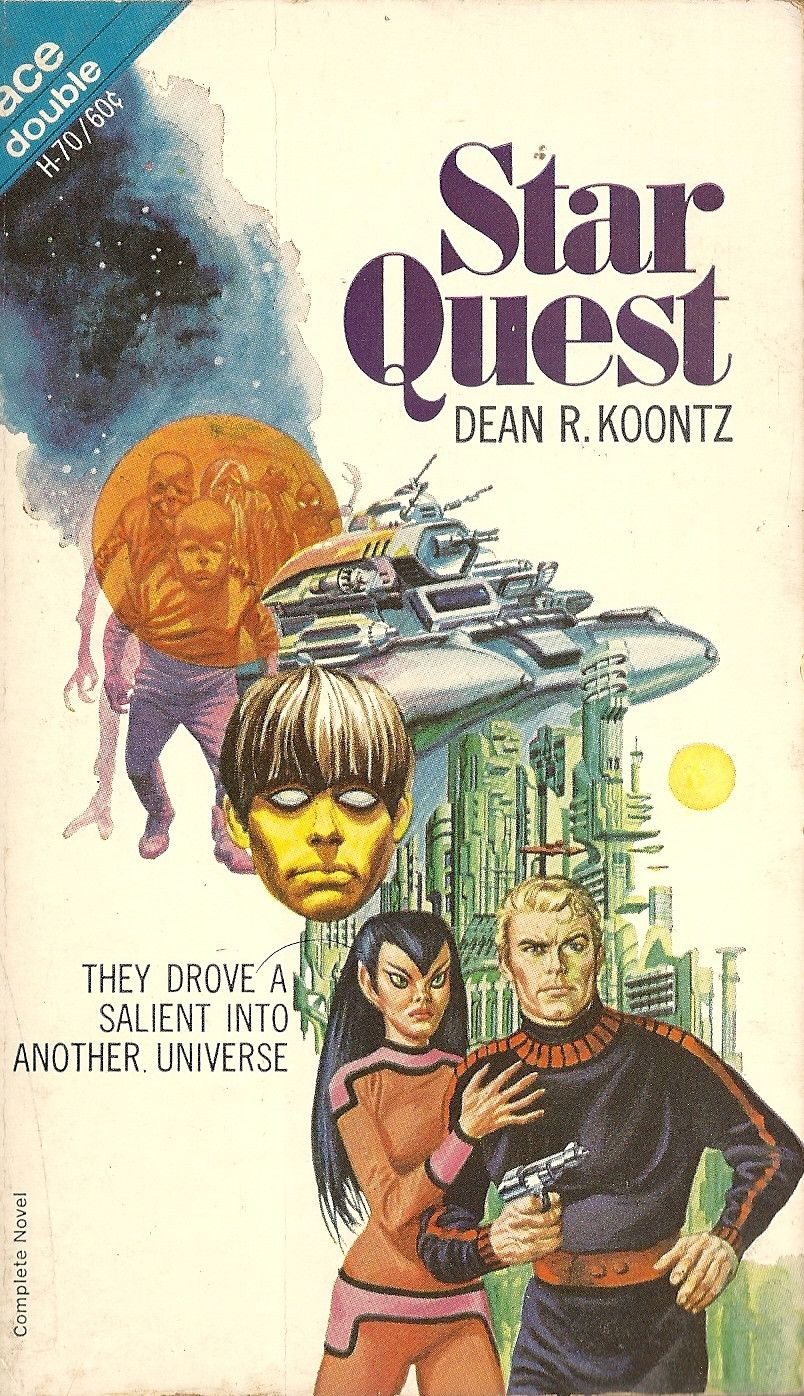 Cook Book Cover Quest : Star quest doom of the green planet dean koontz books