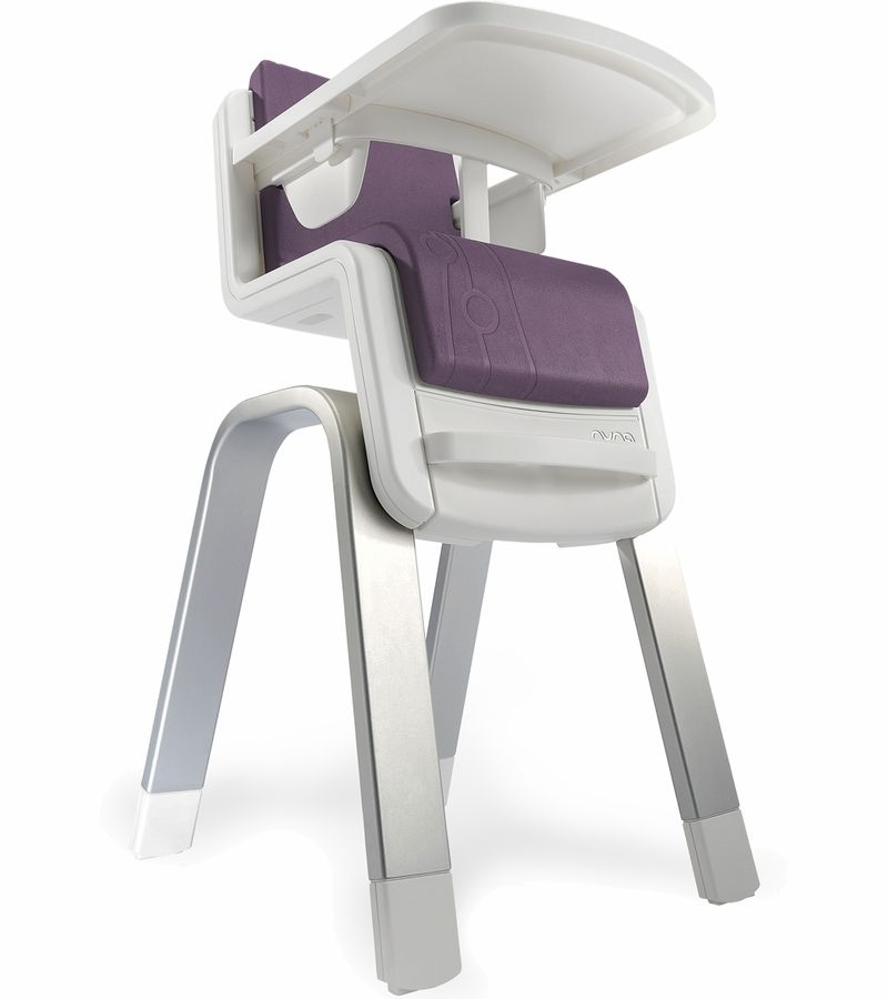 nuna zaaz high chair - plum | baby gear | pinterest | high chairs