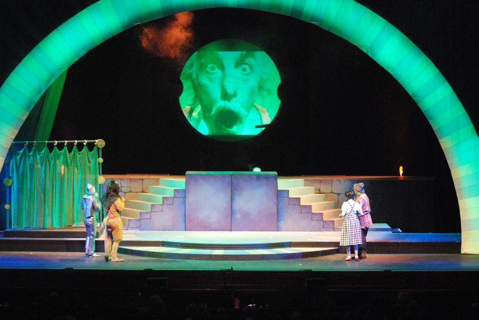 wizard of oz set design | Wizard of Oz » Wizard of Oz 174 | Wizard ...