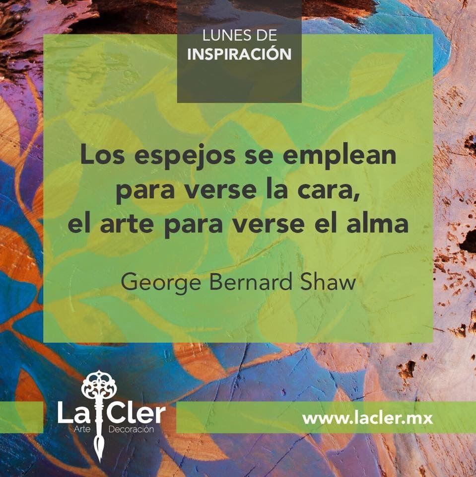 Facebook: https://www.facebook.com/lacler.mx/   #arte #frases #quotes #lunes #inspiración