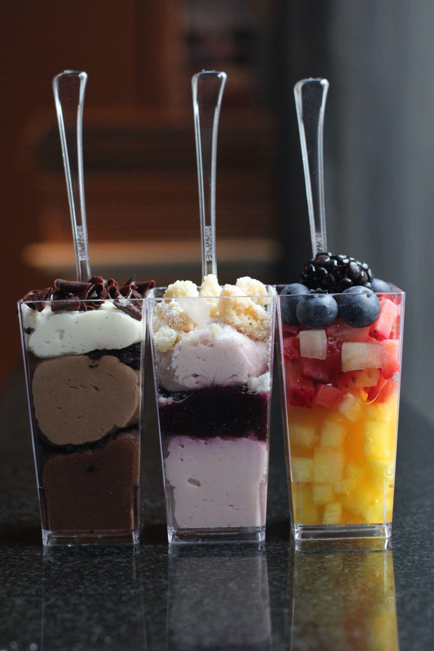 Petit Four Dessert Shots