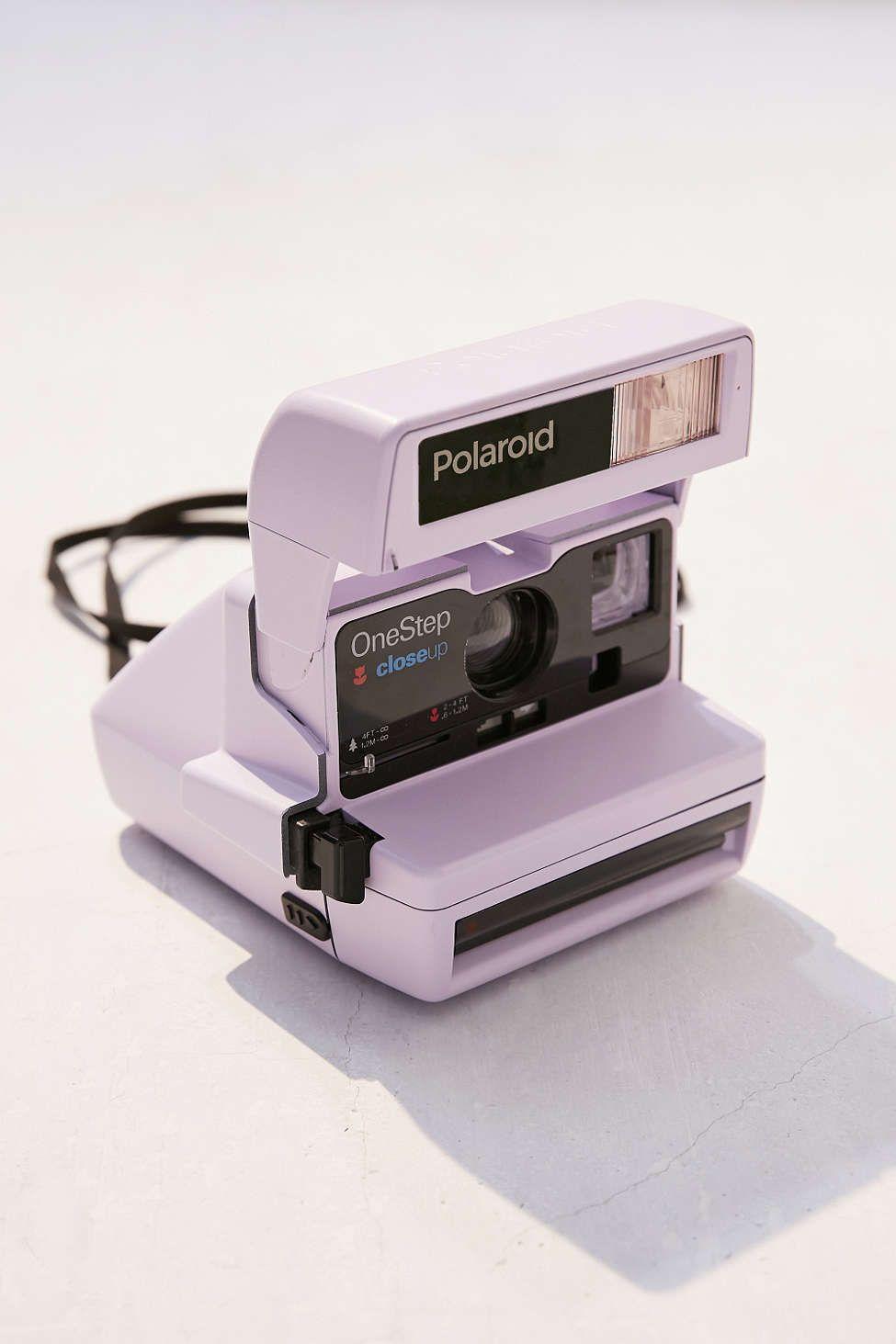 Impossible X UO Lavender Polaroid 600 Close Up Instant Camera