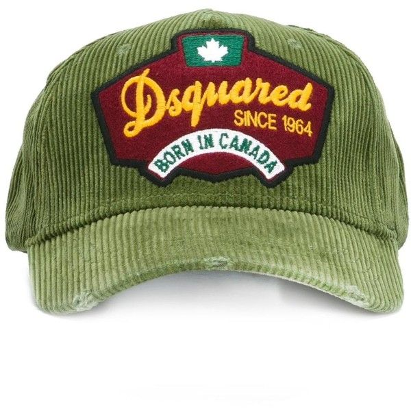 DSQ2 baseball cap - Green Dsquared2 D2oYzUXgQ