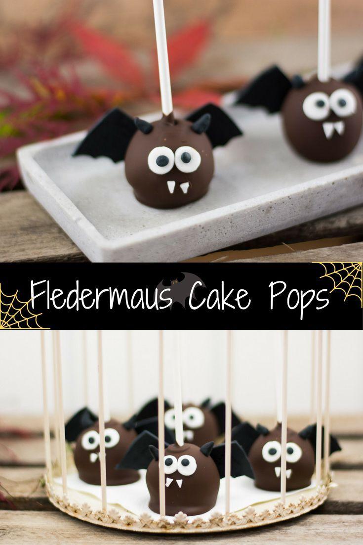 Dracula Fledermäuse - die niedlichsten Halloween Cake Pops