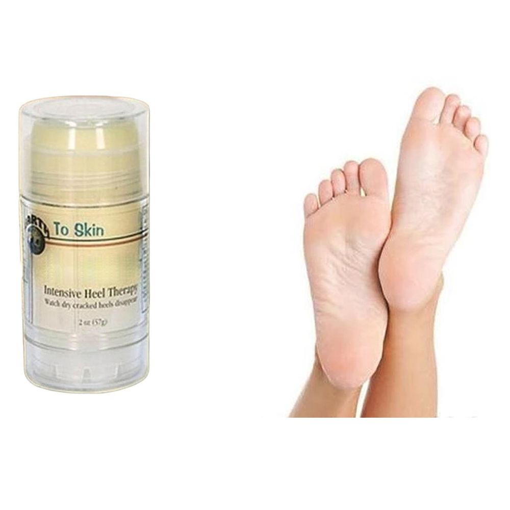 Foot Care Heel Relieve Chapped Cracked Skin Foot Cream Massage In Dry