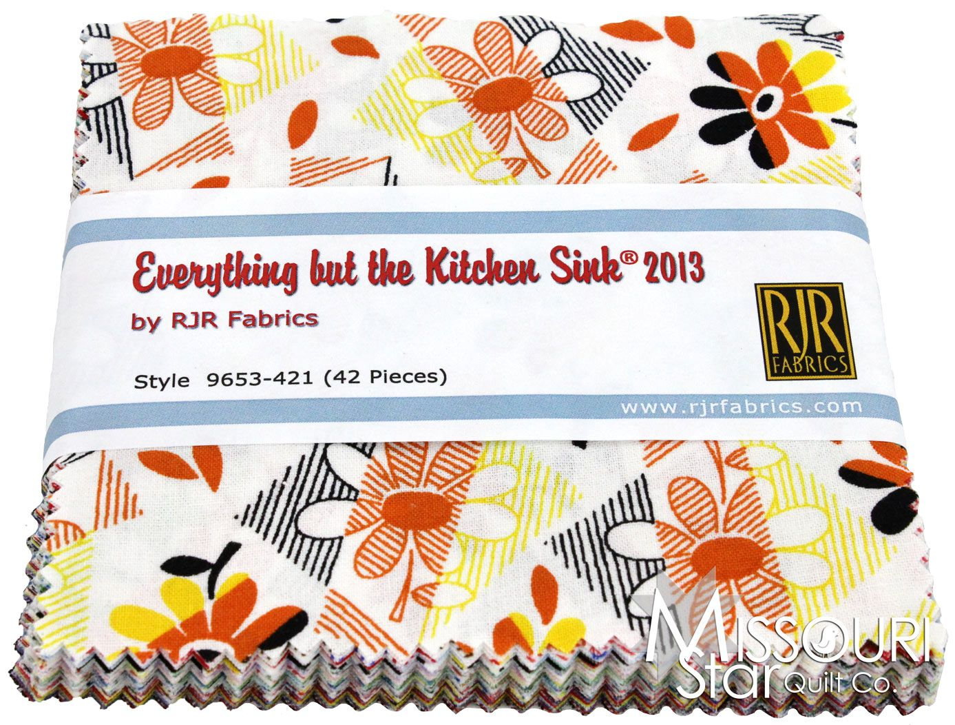 Everything But the Kitchen Sink 2013 Charm Pack from Missouri Star Quilt Co
