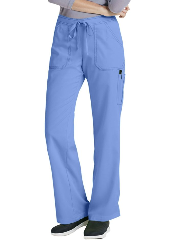 Greys Anatomy drawstring waist 4 pocket cargo scrub pants. Main ...