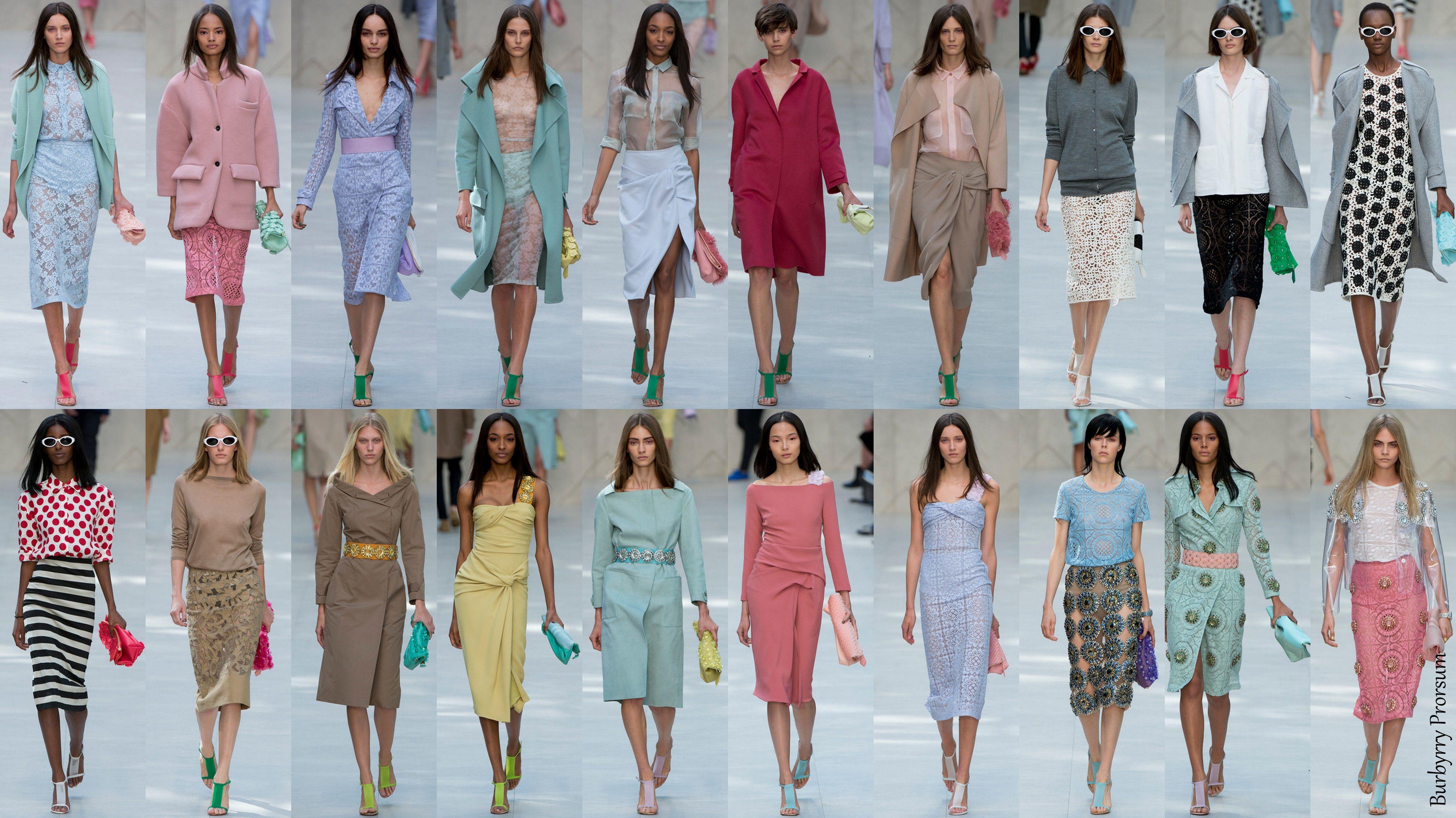 London Fashion Week Sprin/Summer 2014 - Burberry Prorsum