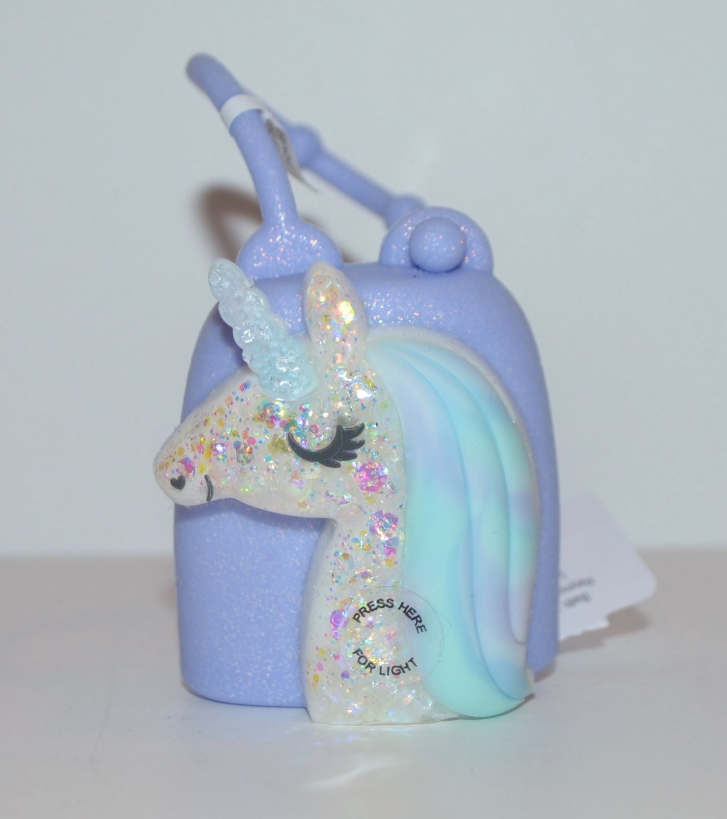 New Bath Body Works Unicorn Light Up Pocketbac Holder Sleeve