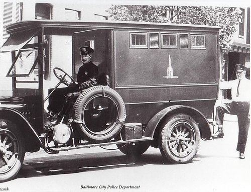 Baltimore City Police, 1920's