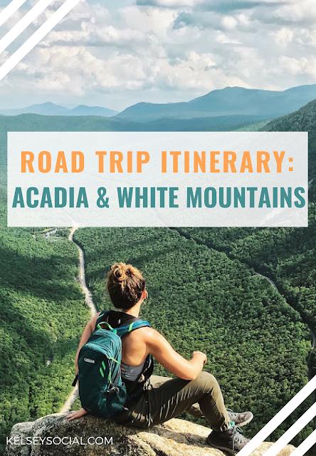 ROAD TRIP ITINERARY: Acadia National Park, White Mountain ...