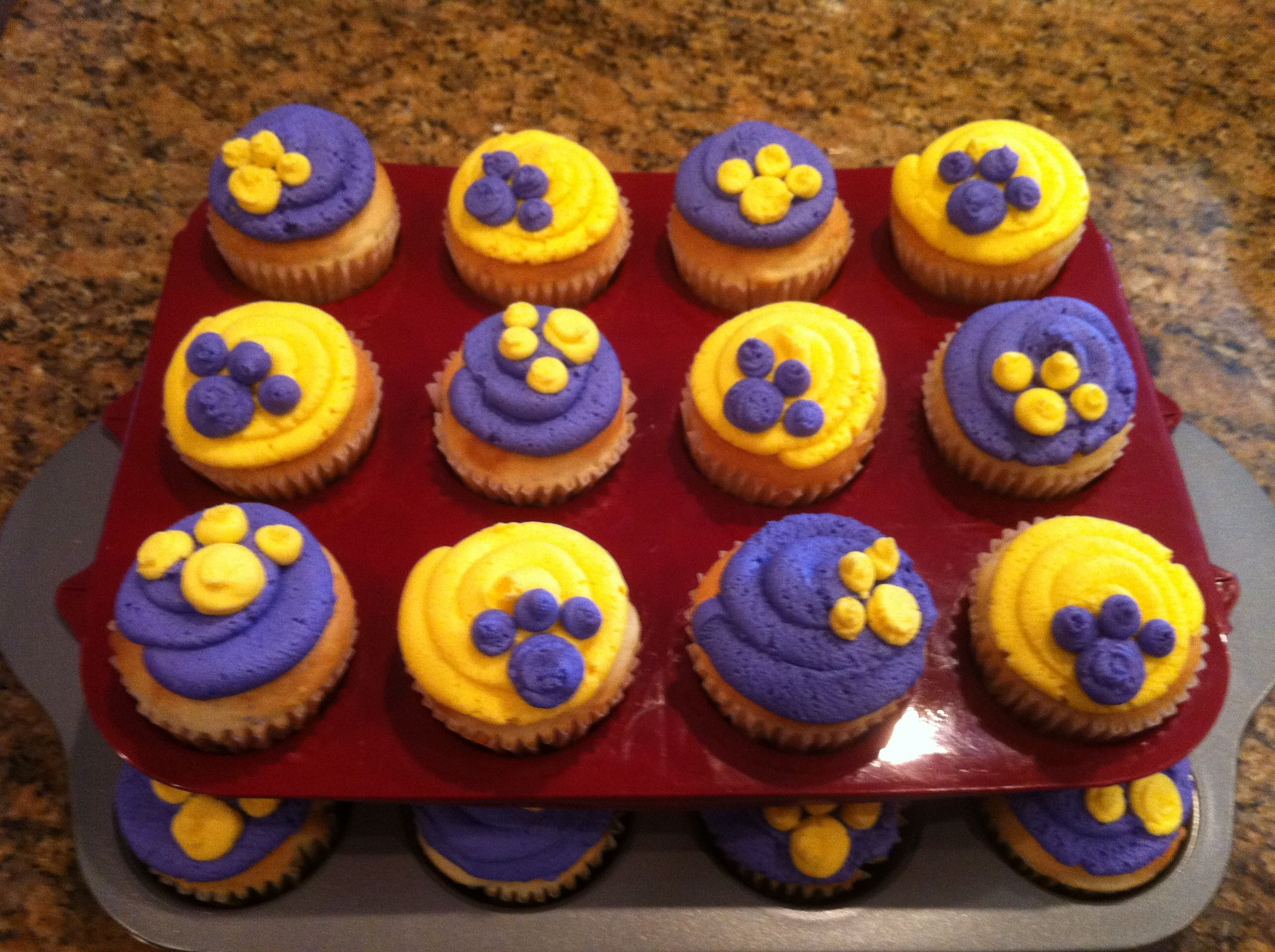 LSU cupcakes | Dessert | Pinterest | Cake, Food and Tiger cake