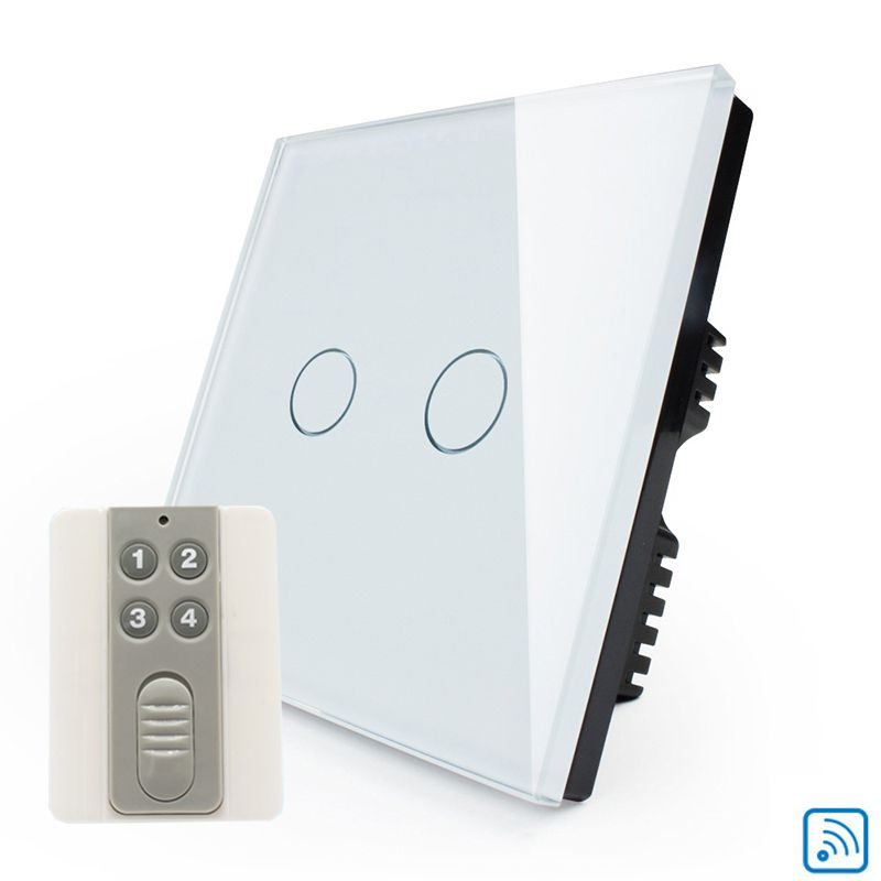 Cnskou 2g1w Remote Switches Uk Standard Touch Switch Remote Touch
