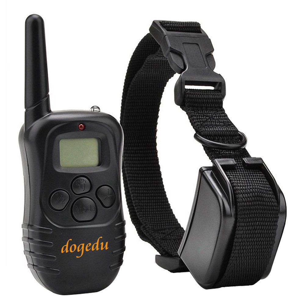 Rechargable Wireless LCD Remote Control Dog Training Shock