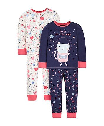 The Childrens Place Big Girls Novelty Printed Night Gown Pajama