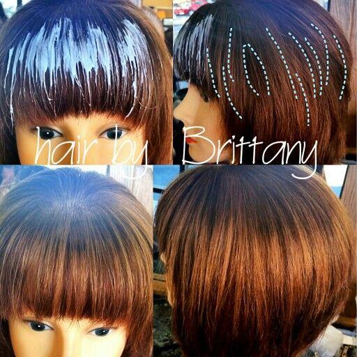 Shine Line Hair Balayage Hair Color Techniques Hair Inspiration Color Balayage