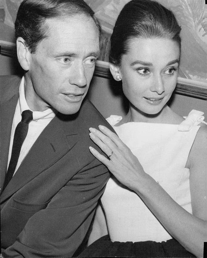 Audrey Hepburn S Engagement Ring Wedding Bands In 2020 Audrey