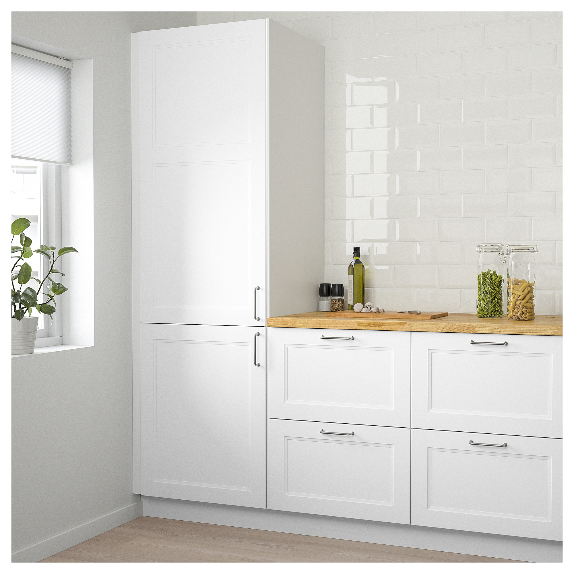 Best Ikea Axstad Door Matt White Kitchen Design Ikea 400 x 300