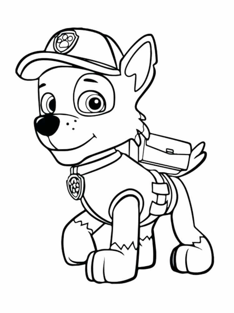 Paw Patrol Coloriage