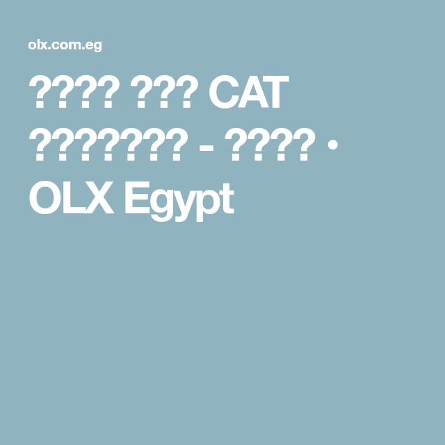 3c0756b221e43 حذاء كات CAT القاهرة - أخرى • OLX Egypt