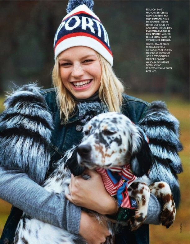 Fashion Editorial | Grand Air | Nadine Leopold by Matt Jones for ELLE France January 2014