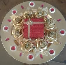 Tray Decoration Ideas Brilliant Image Result For Indian Engagement Tray Decoration Ideas  Rings Design Inspiration