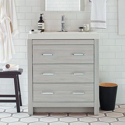 199 30 Inch Woodbrook Sky Elm Bathroom Bathroom