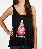 OBEY Pyramid Stone Heart Tank Top