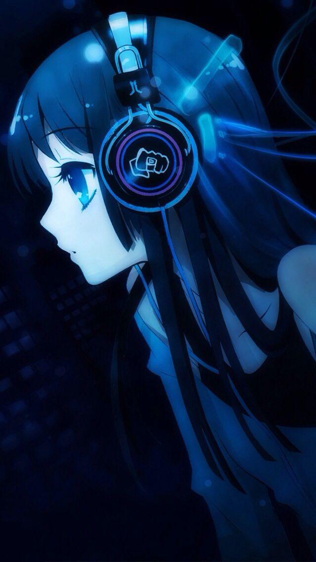 Pin By Sam The Llama On Toby Is Fabulous Anime Music Anime Anime Radio Anime headphones iphone wallpaper