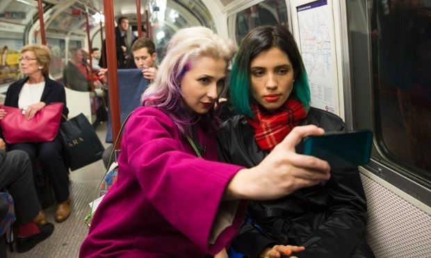 Russian activists Masha Alyokhina (left) and Nadya Tolokonnikova from Pussy Riot visit London to talk politics, prison reform and punk.